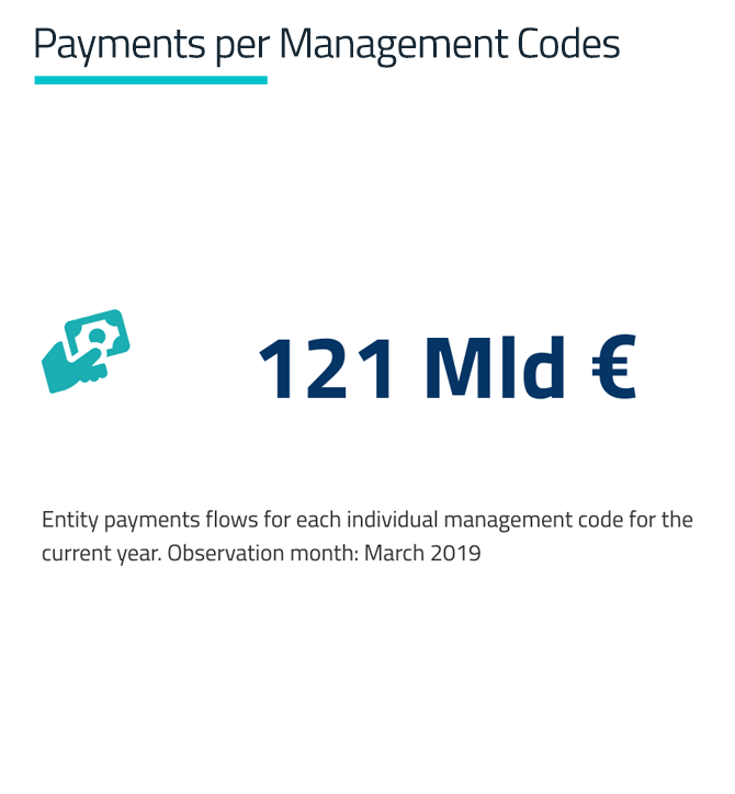 Payments per Management Codes