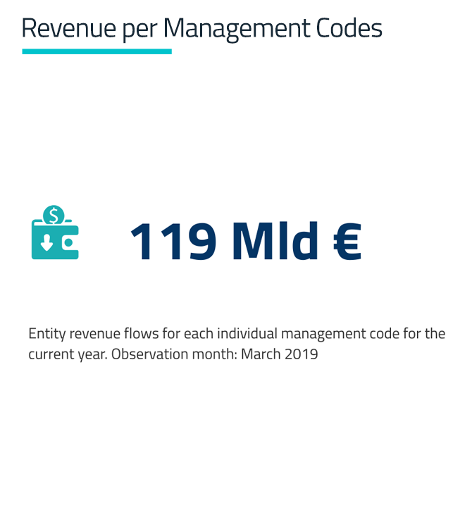 Revenue per Management Codes